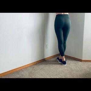 Lululemon Athletica ARmy Green Leggings